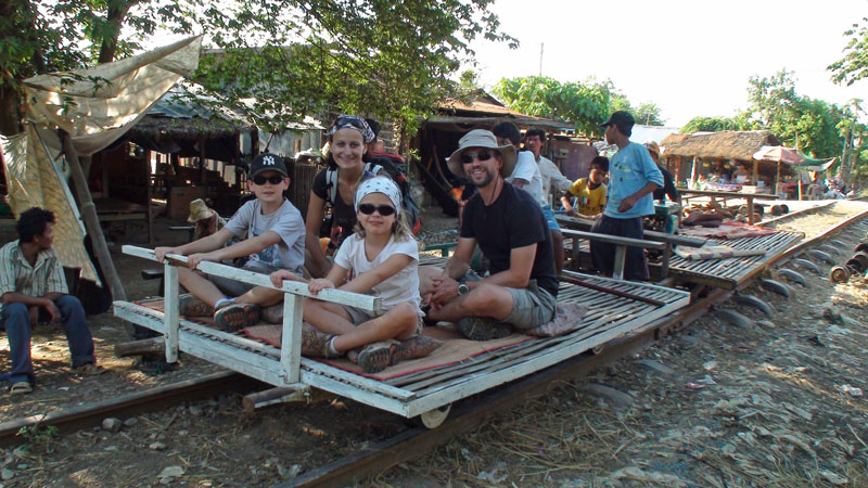 Balade en Bamboo Train